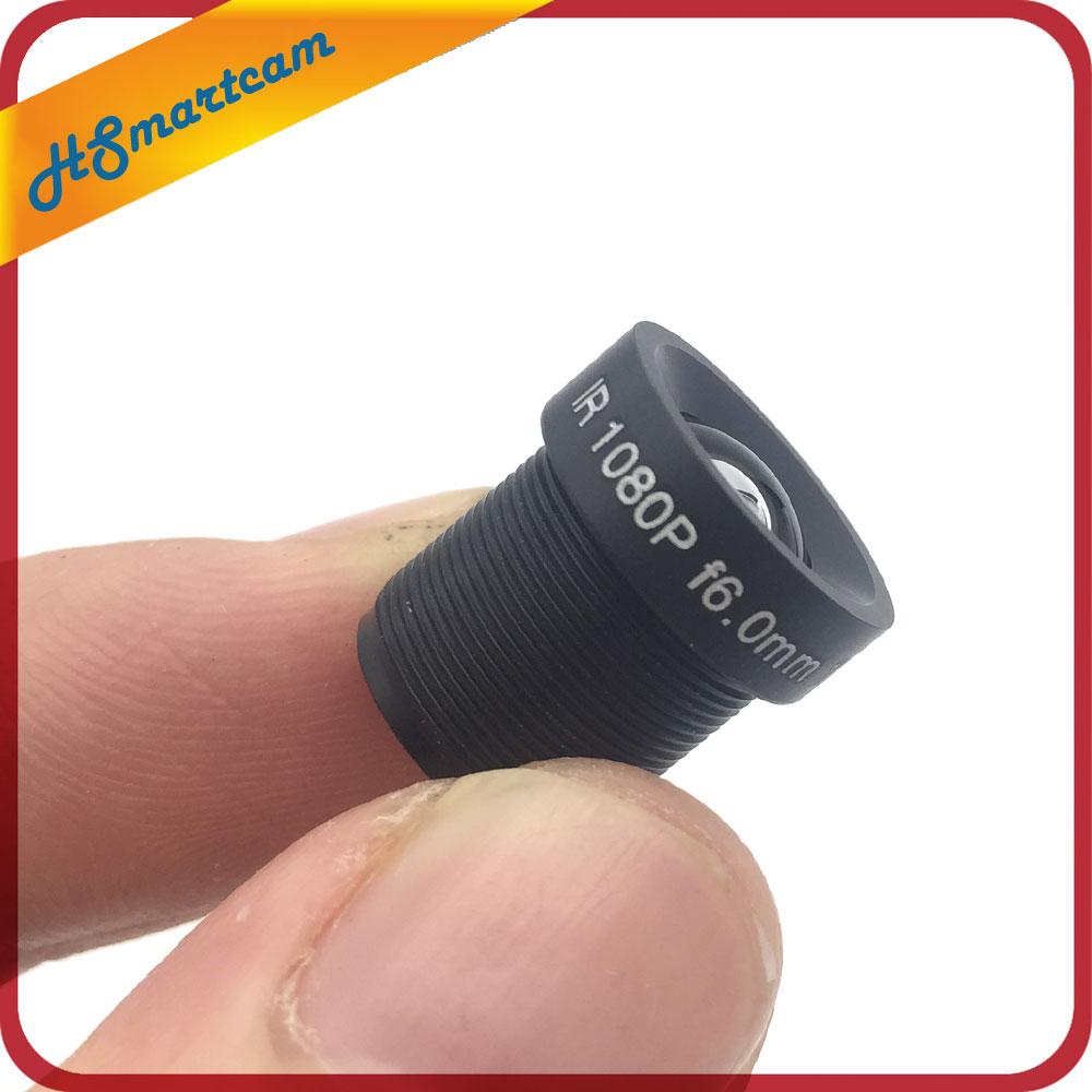 CCTV Lens 1080P 65degreee 1/2.7'' 6mm For HD Full HD CCTV Camera IP Camera M12*0.5 MTV Mount