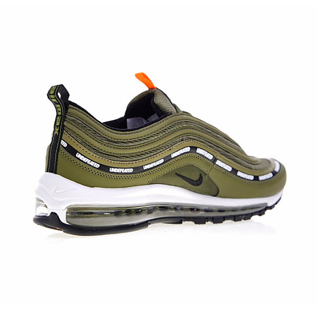 super popular dbe5a 24907 Nike Air Max 97 OG x Undefeated Olive Men's Breathable Running Shoes  Outdoor Sneakers Sports 2018 New Desinger AJ1986-300