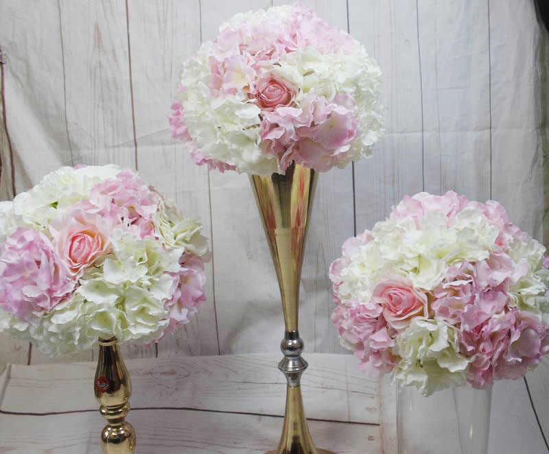 Spr 2018 High Quality Wedding Artificial Table Centerpiece 30cm Flower Ball Backdrop Arch Flower Wall Arrangement Decoration Artificial Dried Flowers Aliexpress