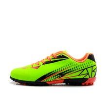 TIEBAO E76515 дети дерн футбольные бутсы, уличные дети TF подошва, для футбола обувь подростков футбольные бутсы флуоресцентный оранжевый желтый
