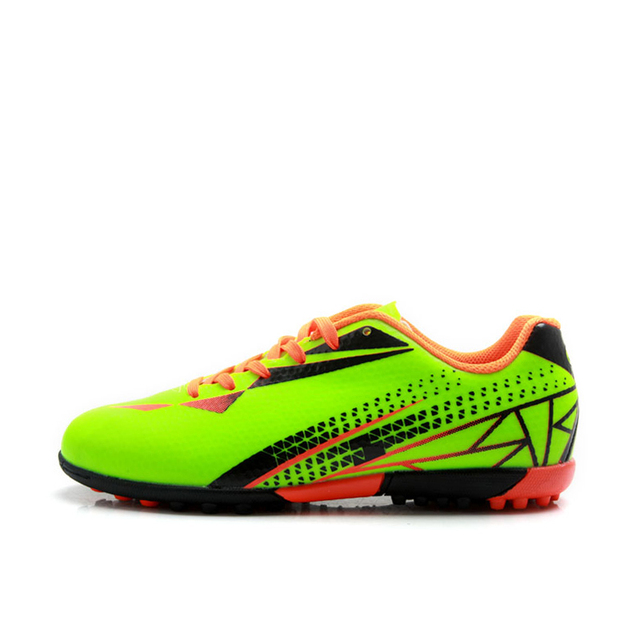 e99cea499 Aliexpress.com : Buy TIEBAO E76515 Children Turf Soccer Shoes Outdoor Kids  TF Soles Football Shoes Teenagers Football Boots Fluorescein Orange Yellow  from ...