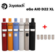 Joyetech eGo AIO D22 XL Vape Kit 2300mah Internal Battery 4ml Tank ego aio XL All-in-one E-cigarette Kit Vs Ijust s Kit