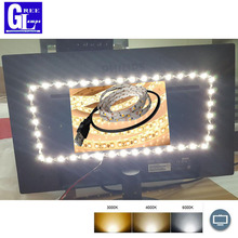CRI>90 0.5m  1m 2m 3m 4m  5V TV Tira LED Strip USB White LED Cable For Computer TV Backlight Background