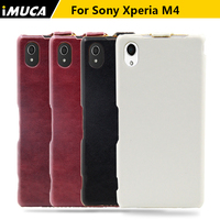 For Sony M4 Aqua Case Luxury Flip Leather Phone Case Cover Pouch For Sony Xperia M4
