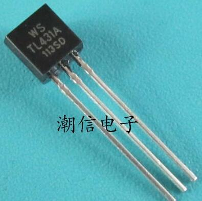 Free Shipping One Lot 50pcs TL431A TL431 TO-92 Programmable Voltage Reference New 431
