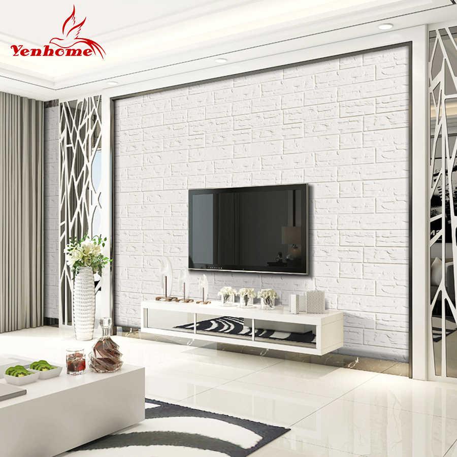 リビングルームのテレビの背景寝室のインテリア 3d 壁デカール防水自己
