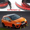 Free Shipping For SEAT Ibiza / Bumper Lip / Make car lower Body Kit / Front / Rear Skirt Spoiler / Bumper Deflector Rubber Strip