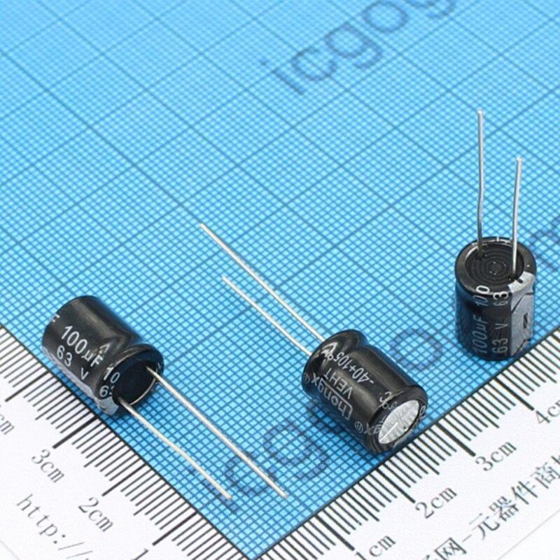 10pcs 6.8uF 400V Electrolytic Capacitor 400V 6.8UF 10x13mm