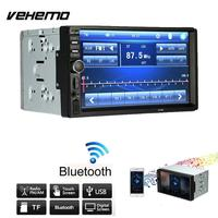 Vehemo Mirror Link Bluetooth Car Audio Radio MP5 Player Car MP5 Smart Premium AUX 2Din