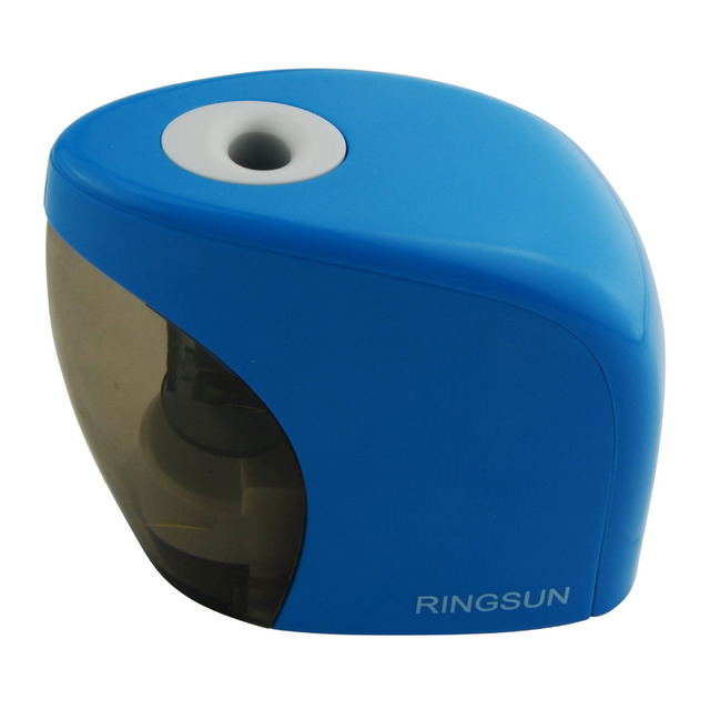 New Touch Switch Automatic Pencil Sharpener Home School Office Desktop Electric Pencil Sharpener