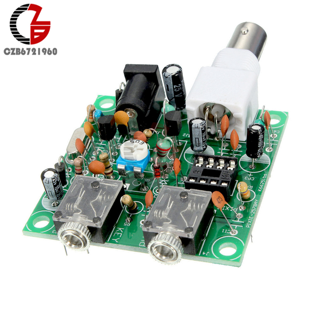 US $1 75 10% OFF|DIY Kits 12V S PIXIE CW QRP Shortwave Radio Transceiver  7 023Mhz DC 9 13 8V -in Instrument Parts & Accessories from Tools on