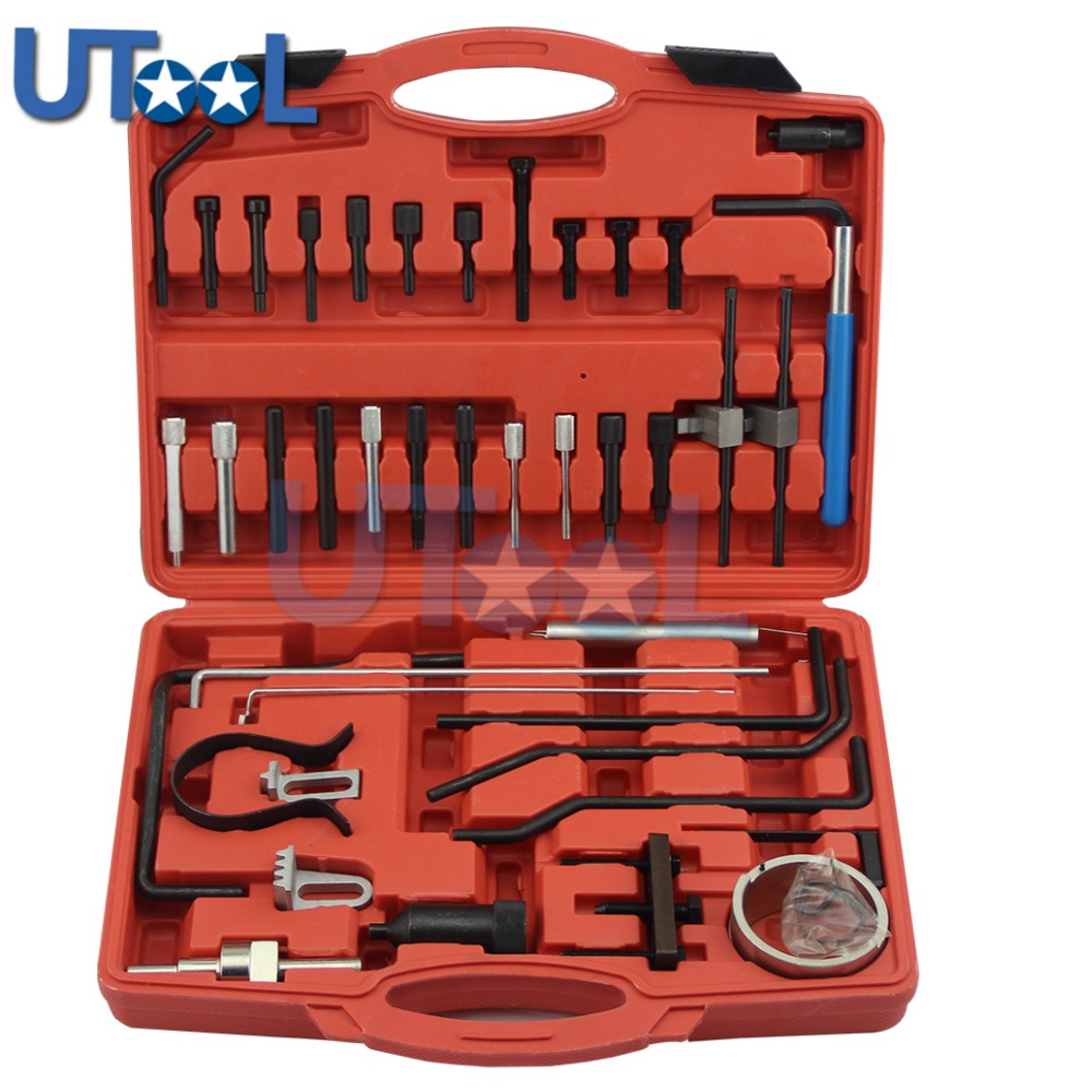 Engine Timing Locking Setting Tool Kit For Citroen <font><b>Peugeot</b></font> C4 C5 <font><b>206</b></font> 307 607 <font><b>Diesel</b></font> Petrol Engines 2.0 2.3 image