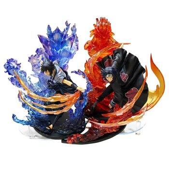 F-zero Sasuke Uchiha Naruto Anime Giapponese Action Figures Toy Pvc Modello di Raccolta Ragazze Bambini Figli Amante Regalo Di Natale