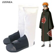 Naruto Cosplay Shoes- Akatsuki Nanja Cos Shoes (White can be left) Women Men Cosplay Costume for Christmas Halloween Party Boots