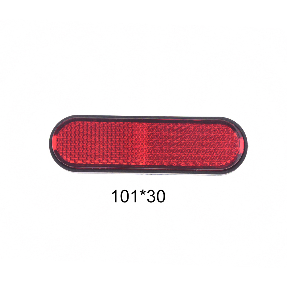 mountain bicycle tail safety warning lamp cycling bike rear reflector lightuO*fd