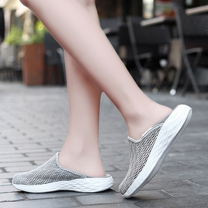 Image 5 - STQ 2020 Autumn Women Sneakers Shoes Breathable Mesh Tenis Feminino Slip On Ladies Casual Flats Sneakers Shoes Woman 1869