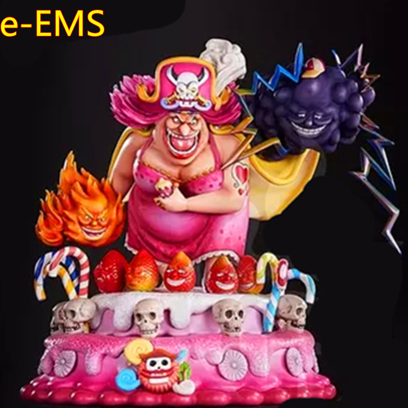 Anime ONE PIECE BIG MOM Charlotte Linlin With Den Den Mushi GK Resin Statue Action Figure Collection Model Toy G2586Anime ONE PIECE BIG MOM Charlotte Linlin With Den Den Mushi GK Resin Statue Action Figure Collection Model Toy G2586