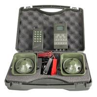 Remote Control Bird Caller Hunting Duck Crow Decoys Bird Sound Trap 2pcs 50W Speaker Waterproof Mp3 Player Hunting Devicae