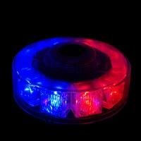 10LEDs 30W Car Roof Flashing Strobe Emergency Light Magnetic Mounted Vehicle Police Warning Light Dome DC