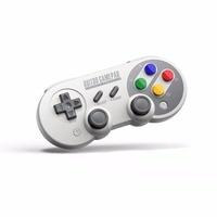 8 Interruptor SF30 8bitdo Wireless Controller Pro Controller Gamepad para Nintendo Windows macOS Android Rumble vibração Movimento controles USB-C