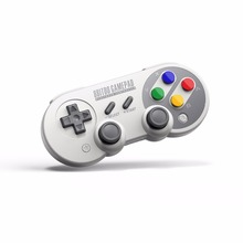 8Bitdo SF30 Pro font b Gamepad b font Controller for Nintendo Switch Windows macOS Android Rumble