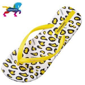 Image 4 - Suojialun kobiety sandały lato projektant klapki japonki płaskie Leopard Print plaża buty damskie Spa joga slajdy