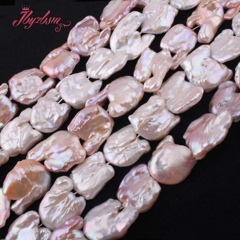 20x30-25x35mm Irregular Alien Freshwater Pearl Natural Stone Beads For DIY Necklace Bracelet Jewelry Making 15 Free Shipping20x30-25x35mm Irregular Alien Freshwater Pearl Natural Stone Beads For DIY Necklace Bracelet Jewelry Making 15 Free Shipping
