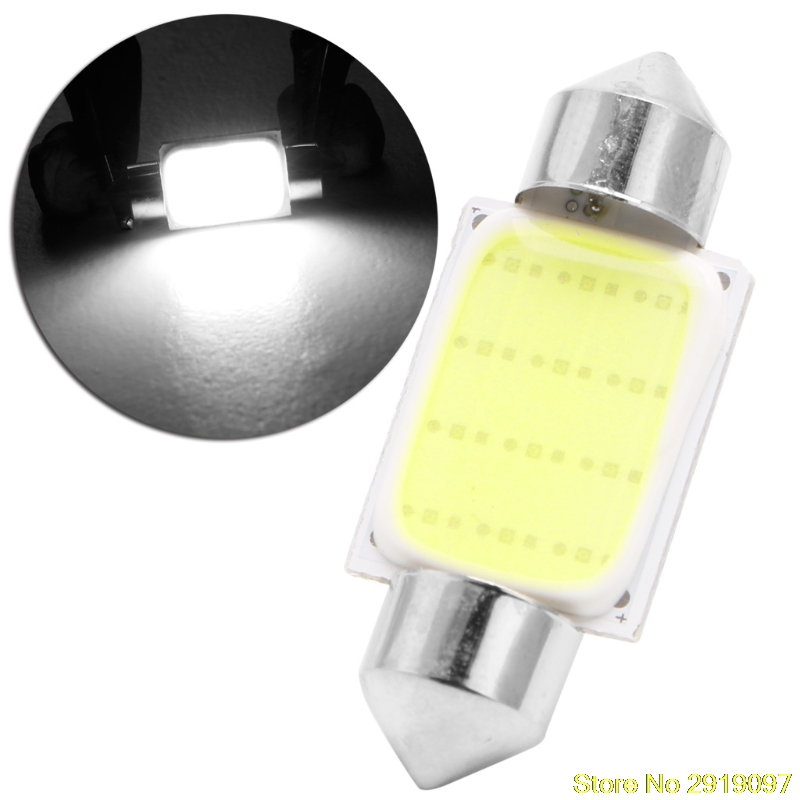 New Festoon CAN BUS 36mm C5W PLASMA COB LED SIZE interior WHITE SMD Bulb New Drop Shipping Support