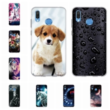 For Huawei Honor Play Case Soft TPU Silicone For Honor Play AL00 AL10 Back Cover Geometric Patterned For Honor Play Shell Bumper goowiiz серебряный черный honor play