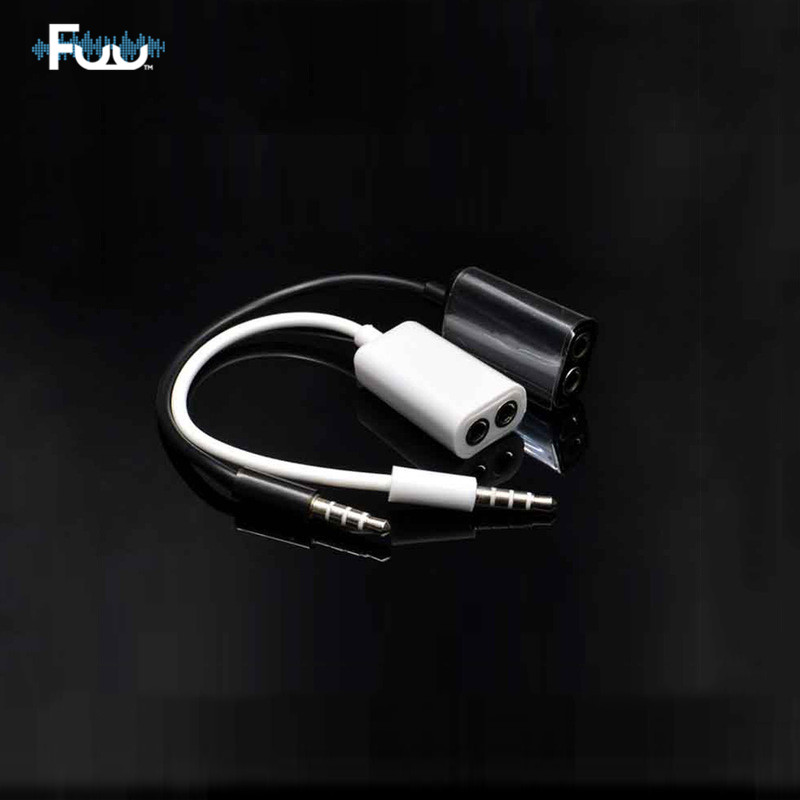 3 5mm Male To Female Headphone Audio Cable Splitter One Point Two Audio Cable Plug Stereo