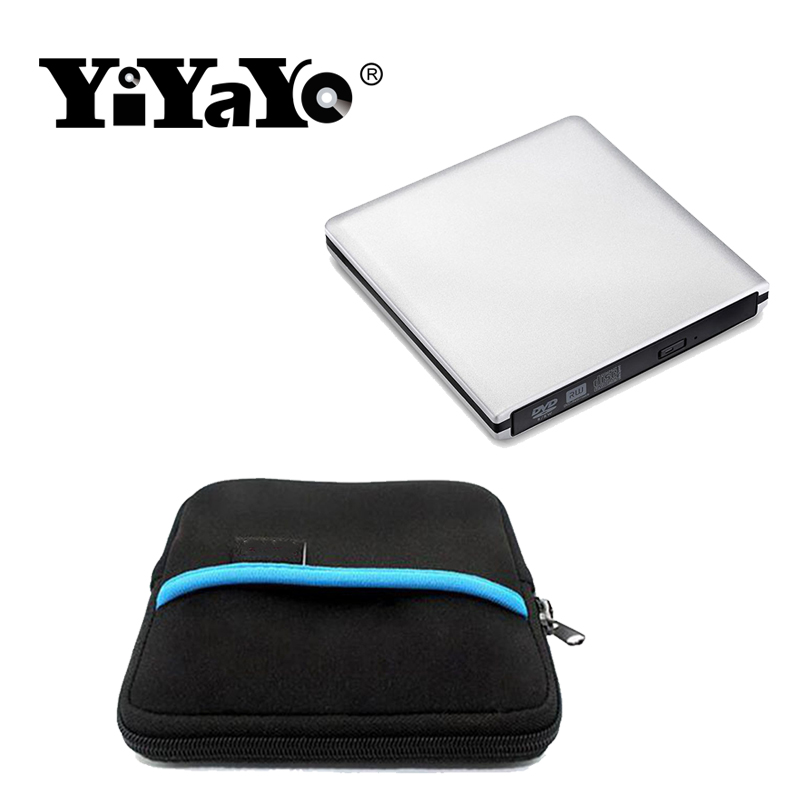 YiYaYo Unitate DVD externă USB 3.0 CD / RW Burner ROM Player - Componente PC