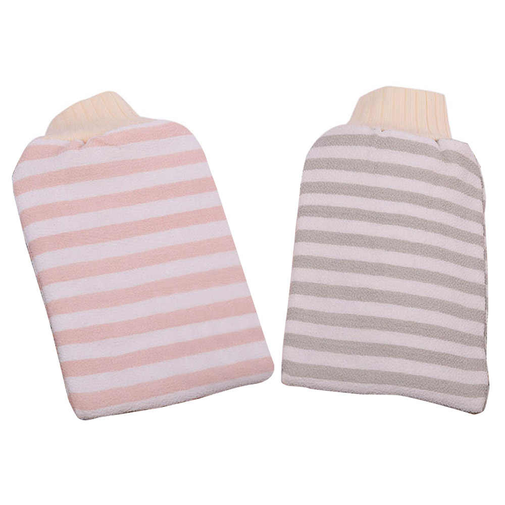 Scrub Bath Brush Shower Spa Washcloth Soap Body Cleaning Exfoliator Rubbing Towel Gloves For Adults High quality