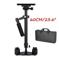 60cm/23.6 Steadycam S60 Steadicam load 3.5kg Handheld Stabilizer + Bag for Camcorder Camera DSLR Canon Nikon Gopro Video DV