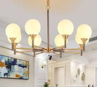 American copper chandelier rural Jane beauty creative artists installed living room bedroom study new copper lamps