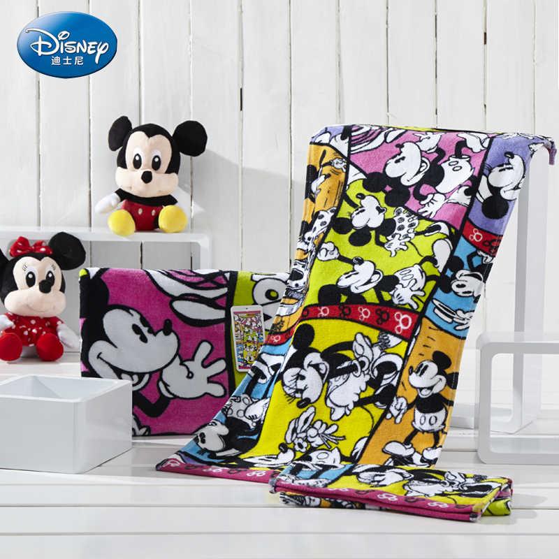 Disney 35*70 Cm Cute Kapas Handuk Mencuci Home Kartun Minnie Bak Mandi Air Panas dan Handuk Anak-anak Persegi Panjang handuk