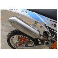 Customized Motorcycle Exhaust Muffler Dirt Bike Exhaust For BSE250 Ktm Motocross