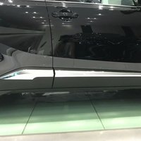For Toyota C HR CHR 2016 2017 Car Side Door Body Trim ABS Chrome Accessories 4P Auto Accessory Perfect Replacement Hot