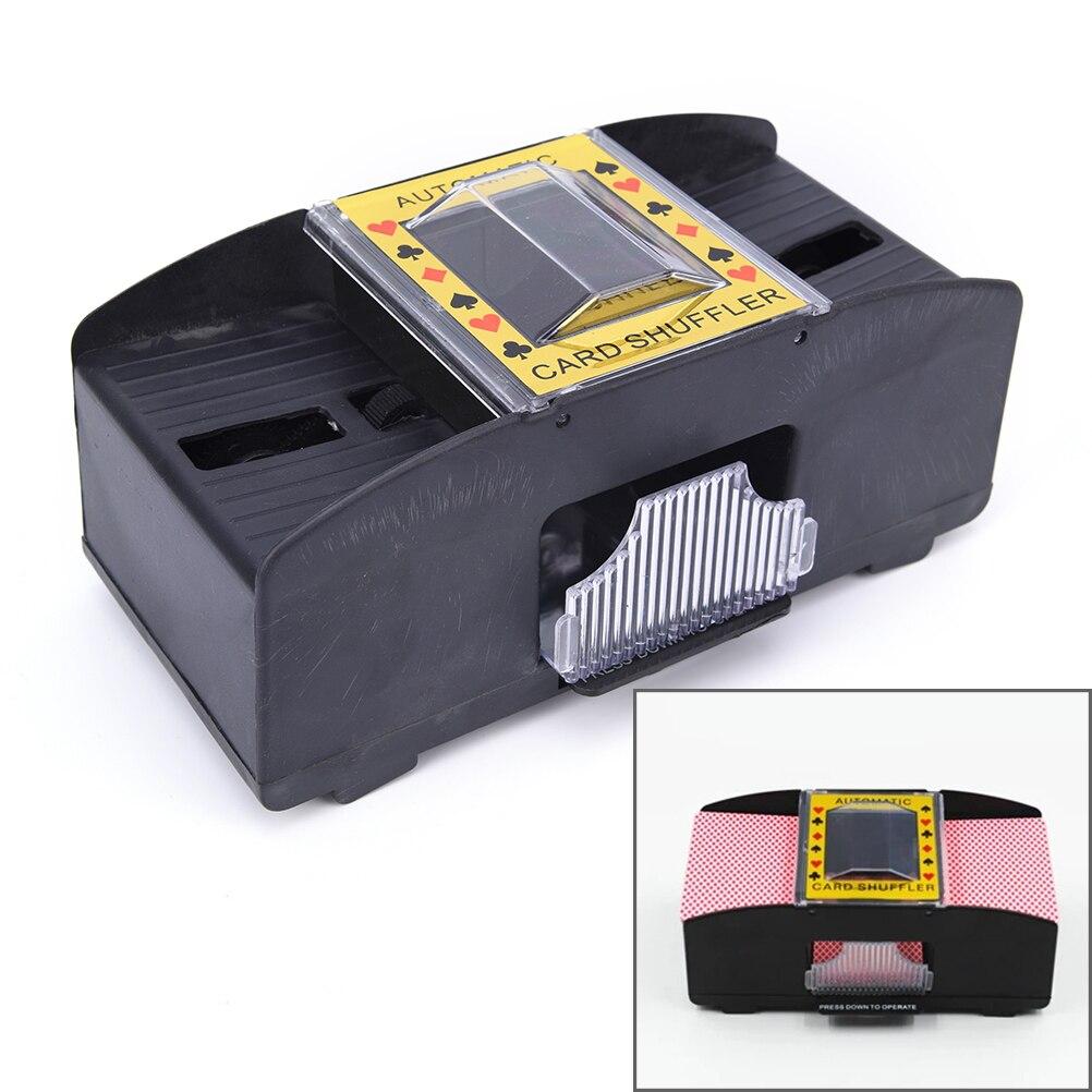 все цены на Automatic Poker Card Shuffler Battery Operated Casino Game Playing Shuffling Machine Advanced Casino Robot For Women Men онлайн
