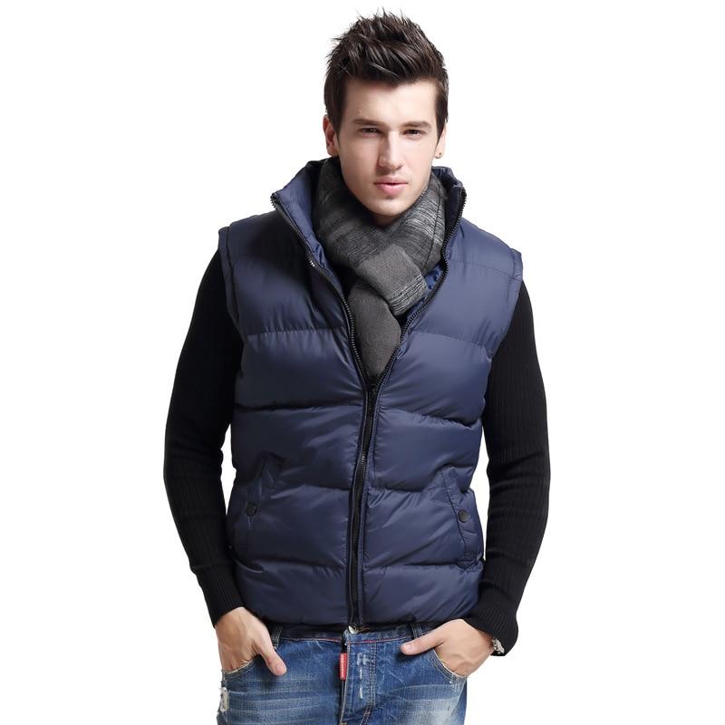 High quality men winter vest,new arrival slim men vest ...