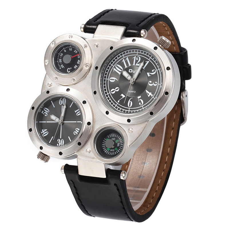 Brand OULM Sports Style Big Face Watches Men Outdoor