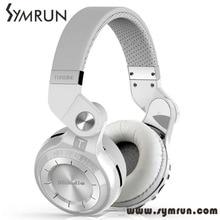 Symrun T2 Plus Fashionable Folded Over The Ear Headphones Bt 4.1 Support Fm Radio Radio Fm Bluetooth Headset