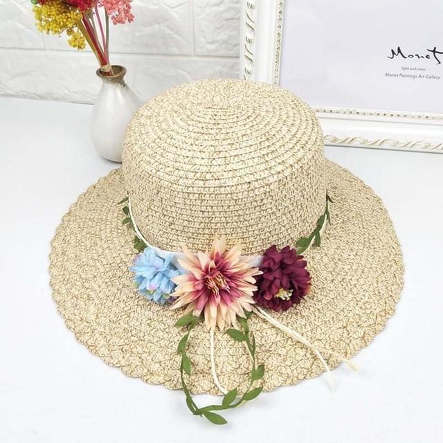 Sombreros de Sun de las mujeres del verano estudiante decoración de ...