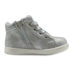Image 4 - Apakowa zapatos de piel sintética para niños, calzado para niña, primavera y otoño, con soporte de arco de cristal