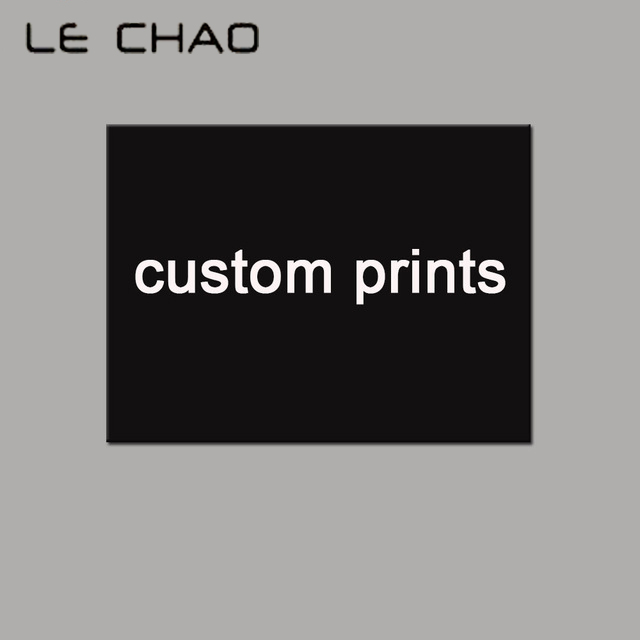 LECHAO Custom Prints Canvas Painting Canvas Art Print Poster Wall Art Picture Posters and Prints Home