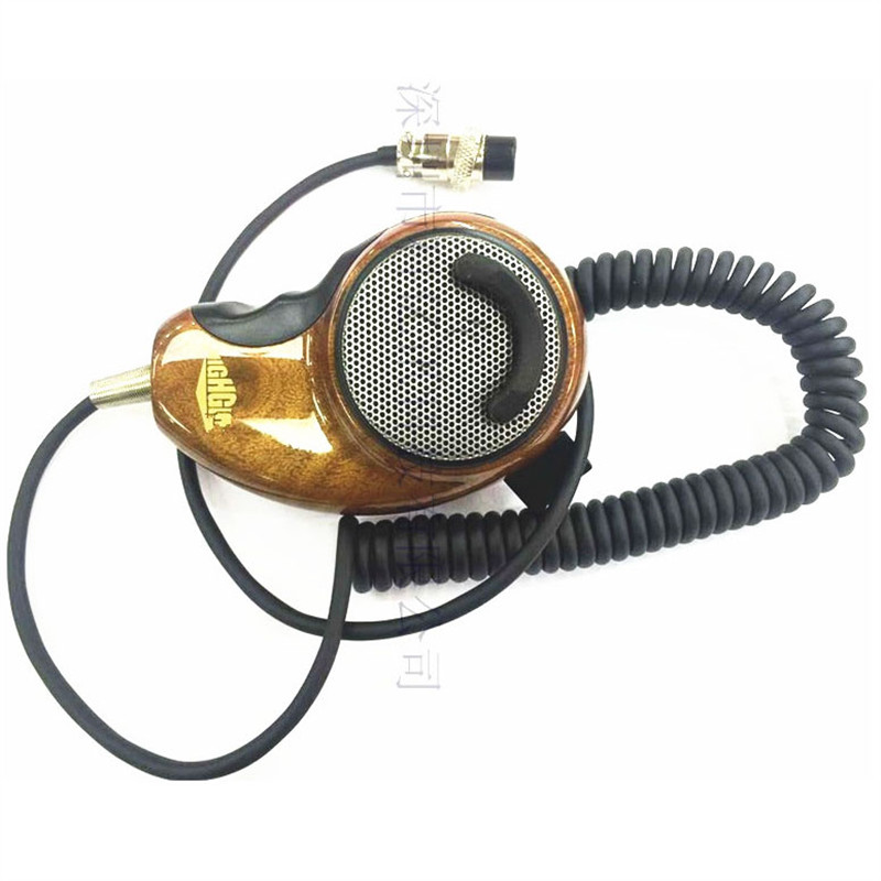 HG M84W for cobra CB walkie talkie car microphone microphone air head 4 core CB station handpick