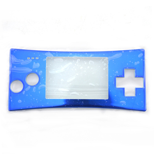 Image 5 - Replacement Front Shell Faceplate Housing Case Cover Panel for G ameboy Micro
