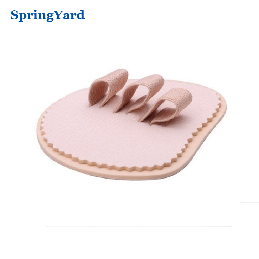 EVA Hammer Toe/Overlapping Toes Orthopedic Toe Separator Straightener Forefoot Cushion Pad Foot Care Insoles