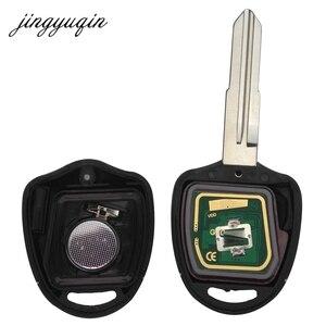 Image 4 - Jingyuqin 5pcs 2/3 Tasten Remote key Für Mitsubishi 433Mhz Chip ID46 Für Mitsubishi L200 Shogun Pajero triton Schlüssel Fob MIT11 MIT8