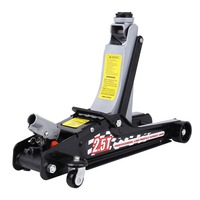 80 365MM Trolley Hydraulic Car Lifing Jack 2 5 Ton Low Profile Quick Jack Stand Hydraulic