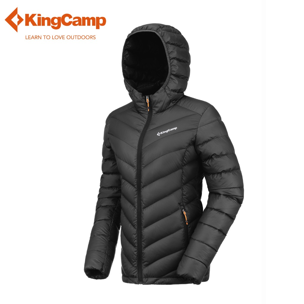 KingCamp Women s Hooded Packable Ultra Light Weight Thickened Down Jacket Winter Waterproof 90 Down Sweater
